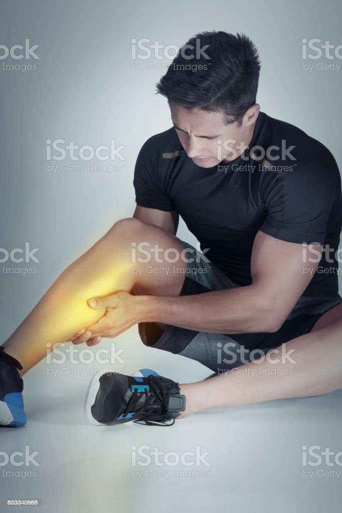 There's always the risk of injury stock photo