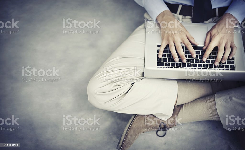 There's always work to be done stock photo