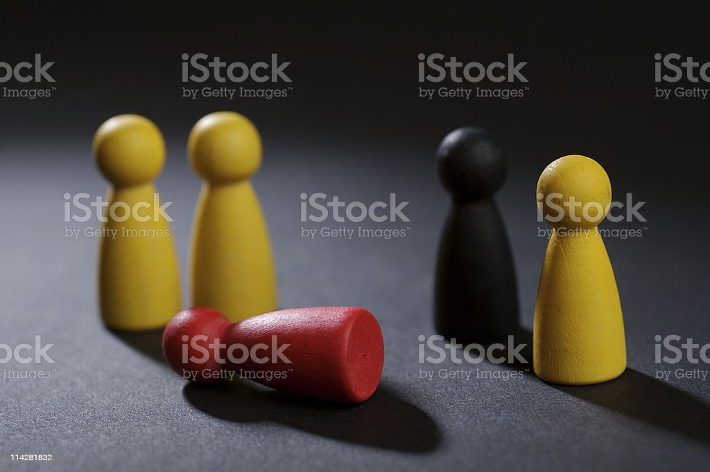 There's been a murder... royalty-free stock photo