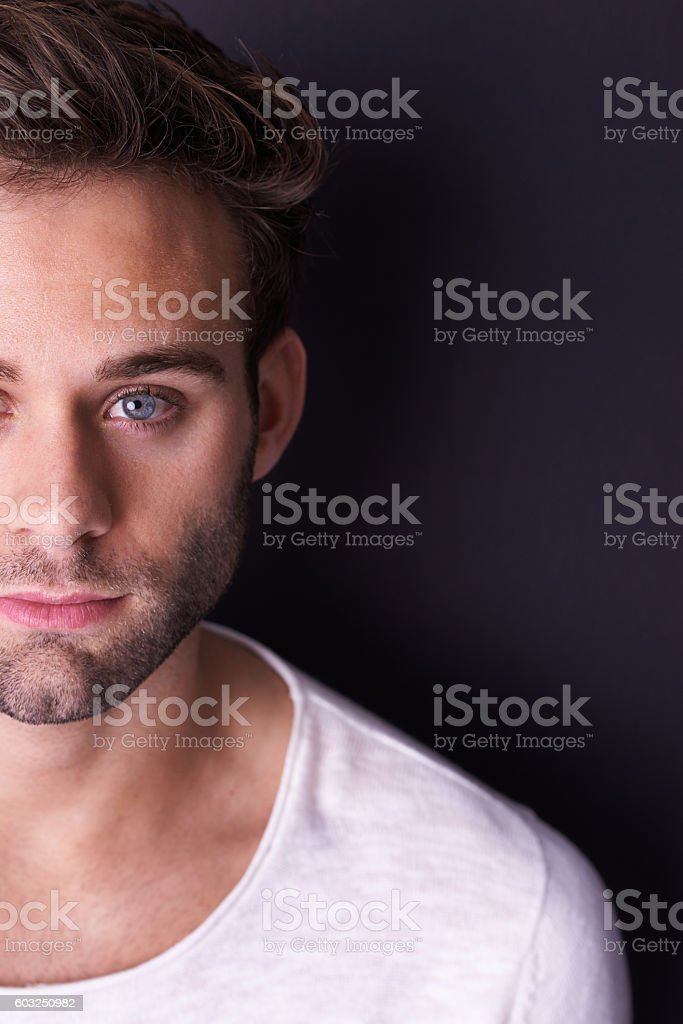 There's more to me that meets the eye stock photo