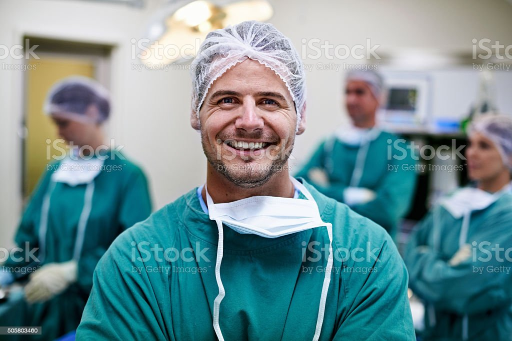There's no better feeling than saving lives stock photo