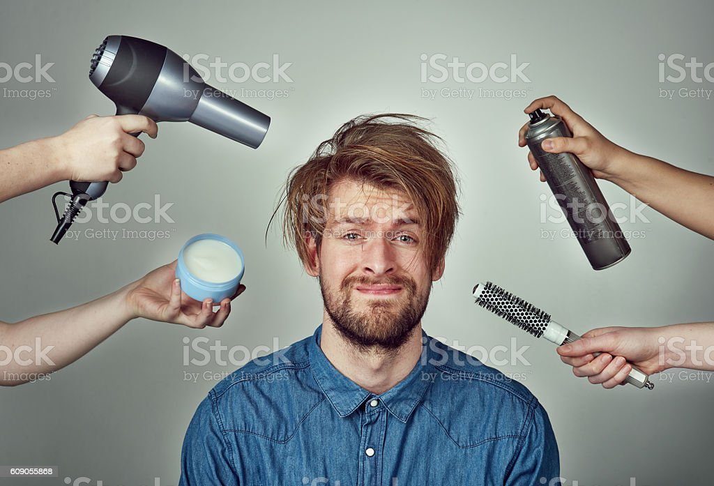 There's no excuse for not looking your best stock photo