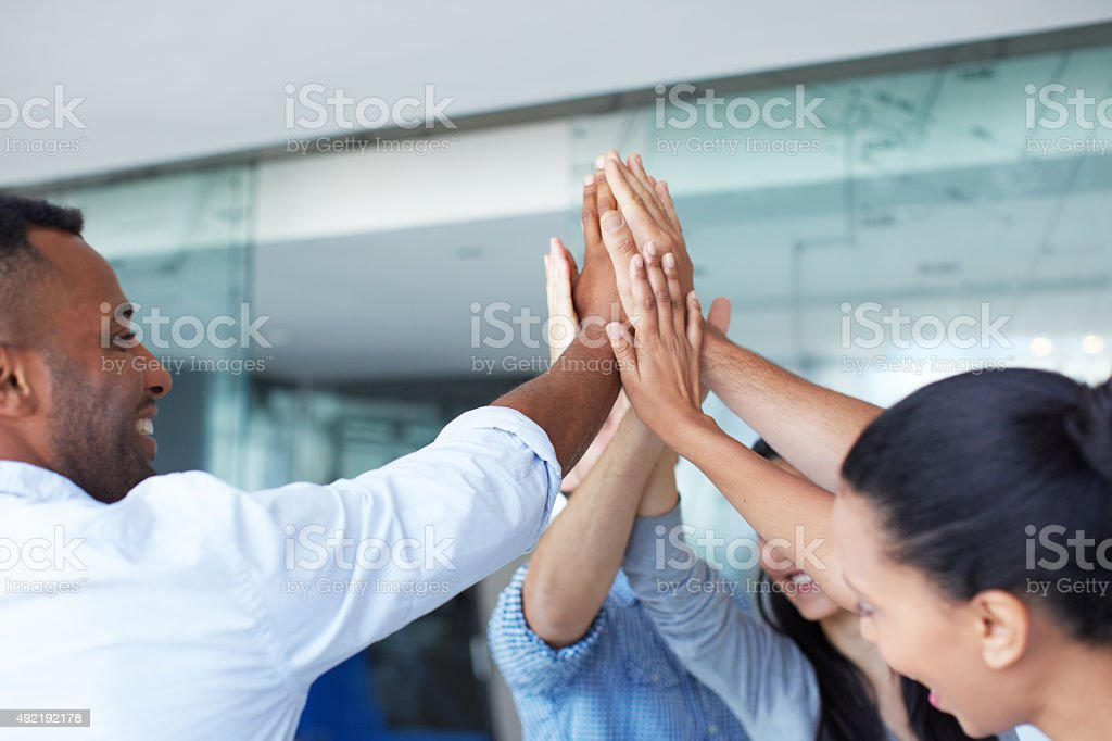 There's no limit to what we can achieve together stock photo