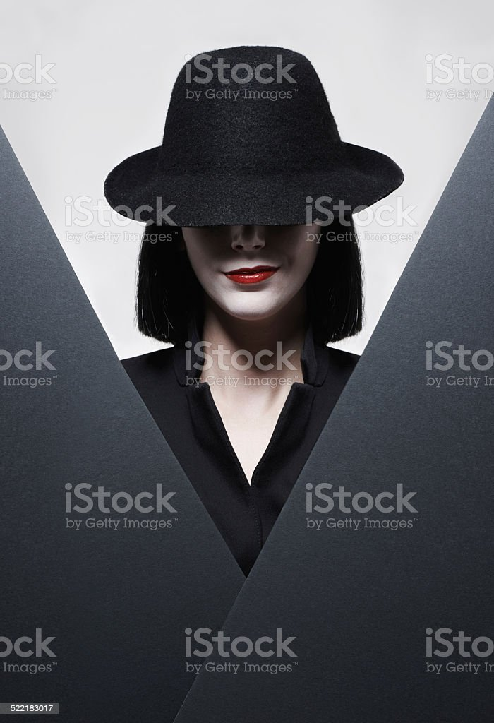 There's no secret you could hide from me stock photo