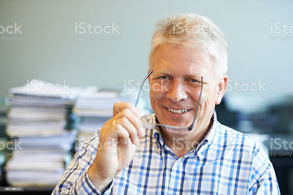There's nothing like experience stock photo