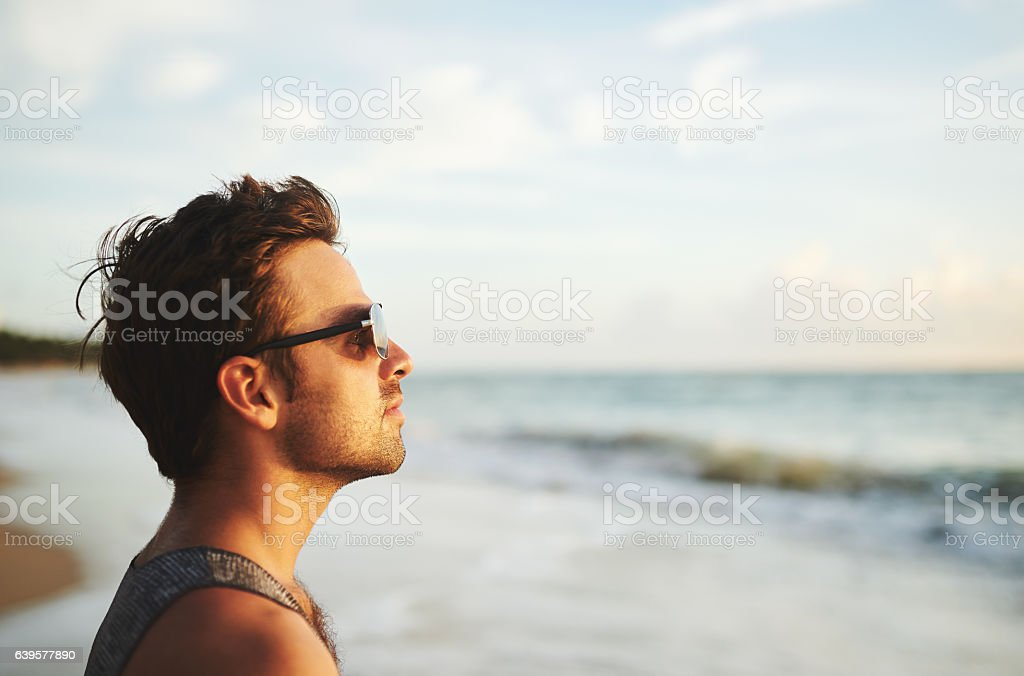 There's nothing more beautiful than this view stock photo