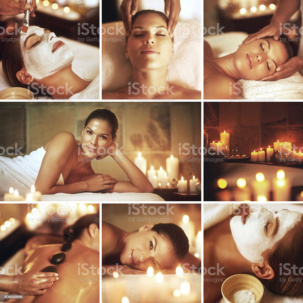 There's nothing more relaxing than the spa stock photo