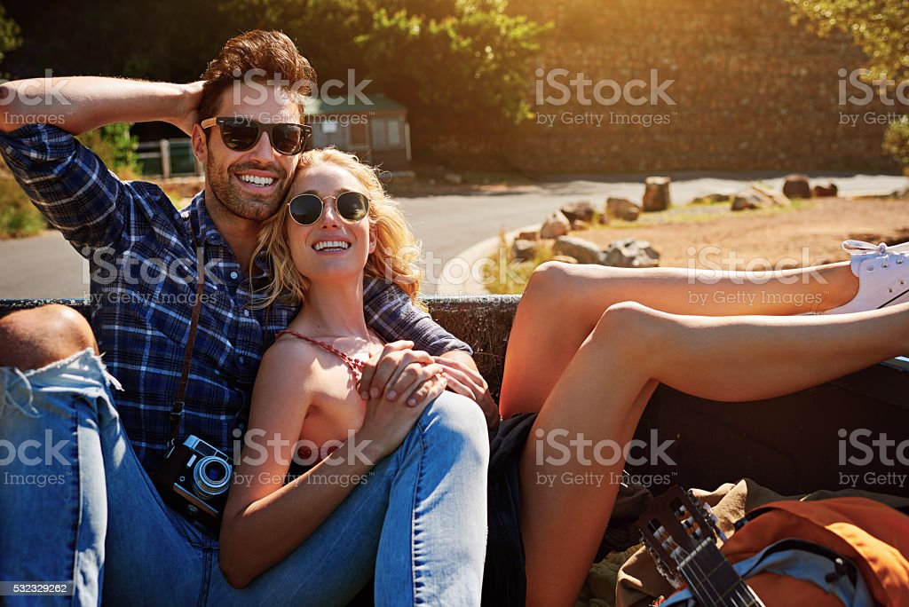 There's nothing we love more than the open road stock photo