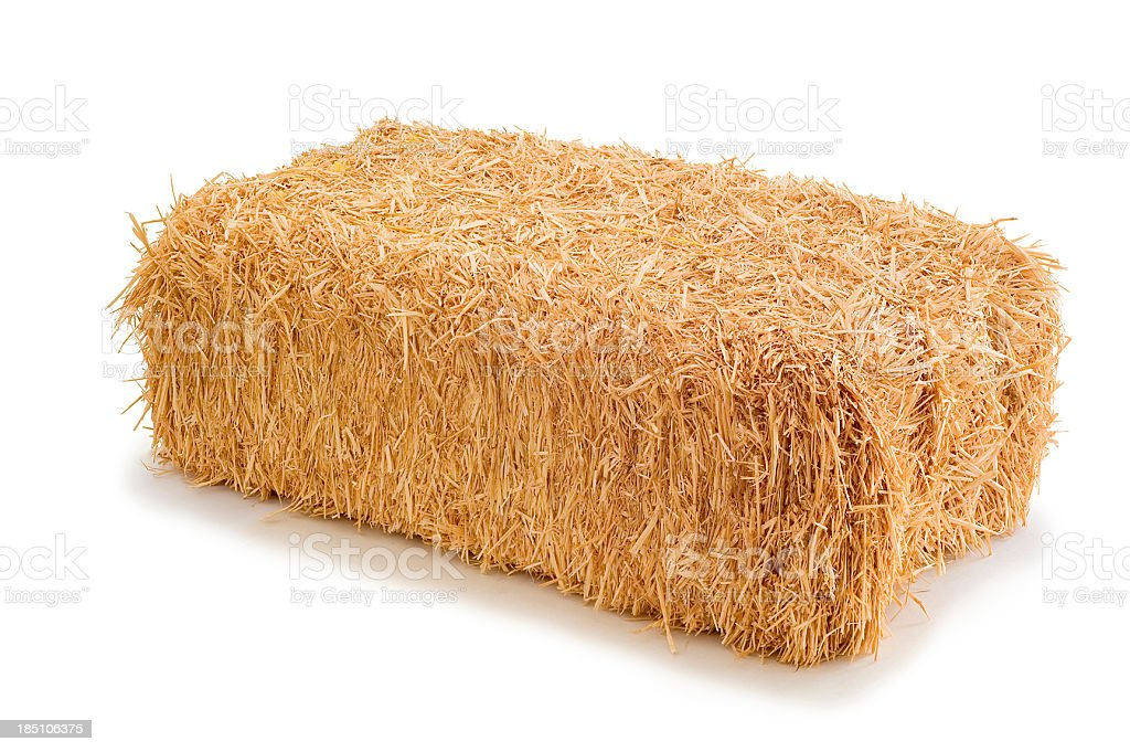 Hay stock photo