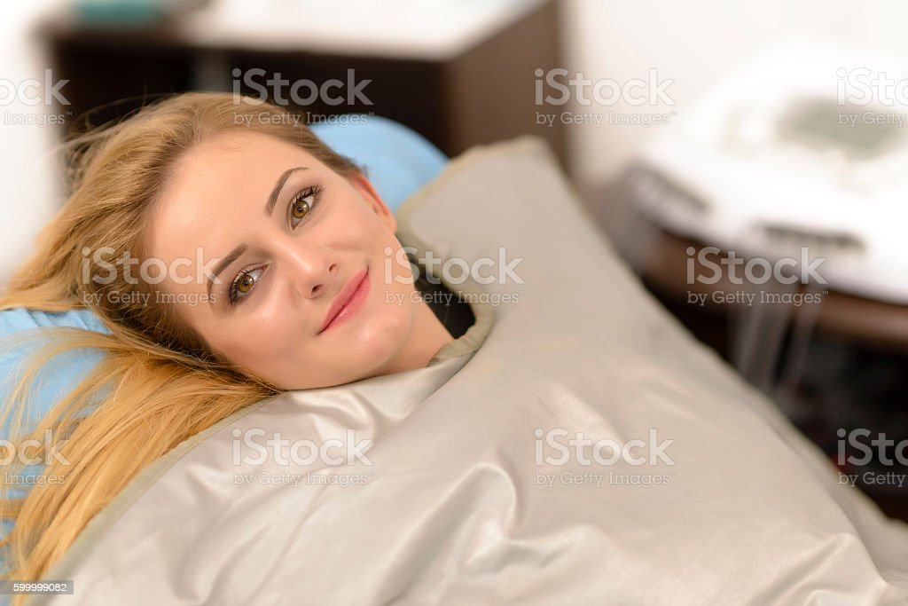 Thermal Blanket Treatment stock photo
