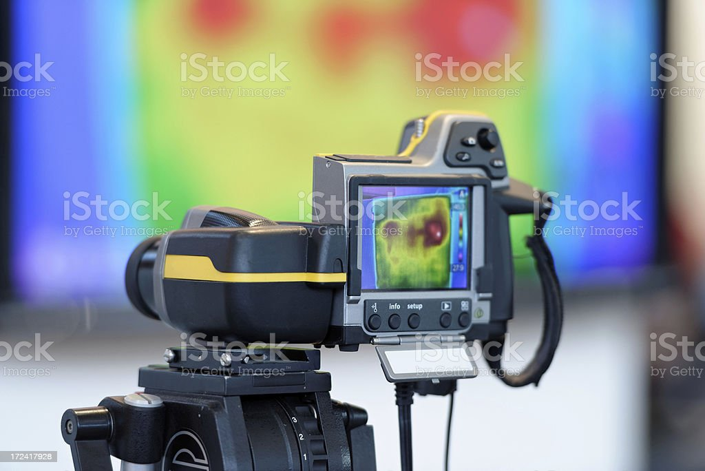 Thermal Imaging and Camera stock photo