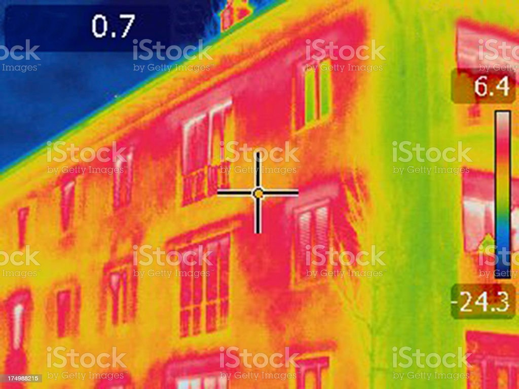 Thermal Imaging Infrared Camera Foto stock photo