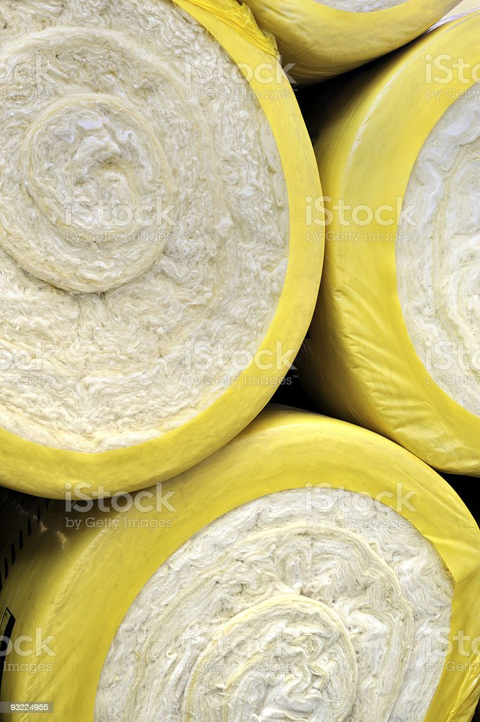 Thermal insulation material royalty-free stock photo