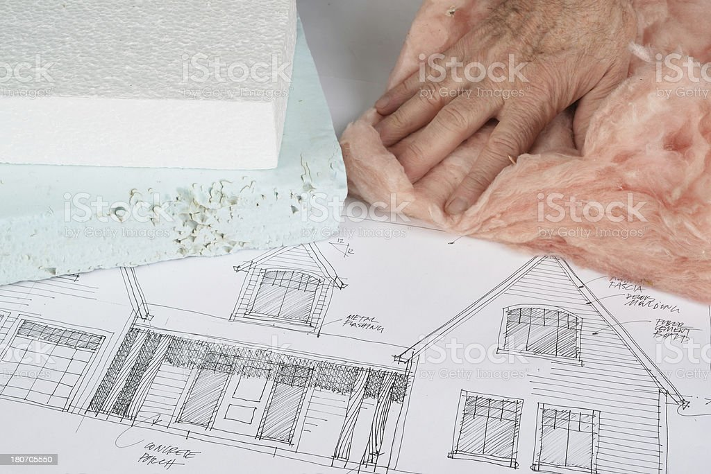 thermal insulation royalty-free stock photo