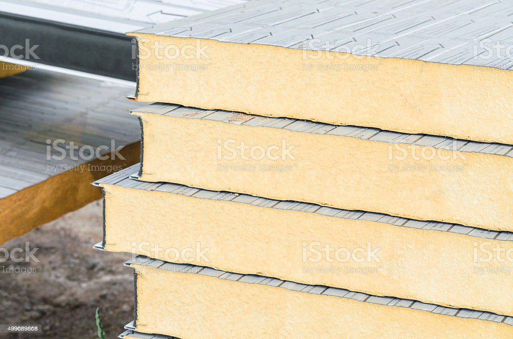 Thermal insulation stock photo
