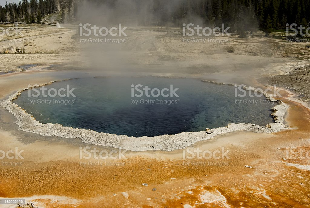 Thermal Pool royalty-free stock photo
