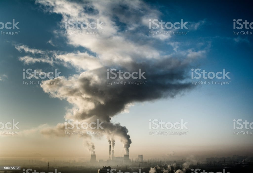 thermal power stock photo