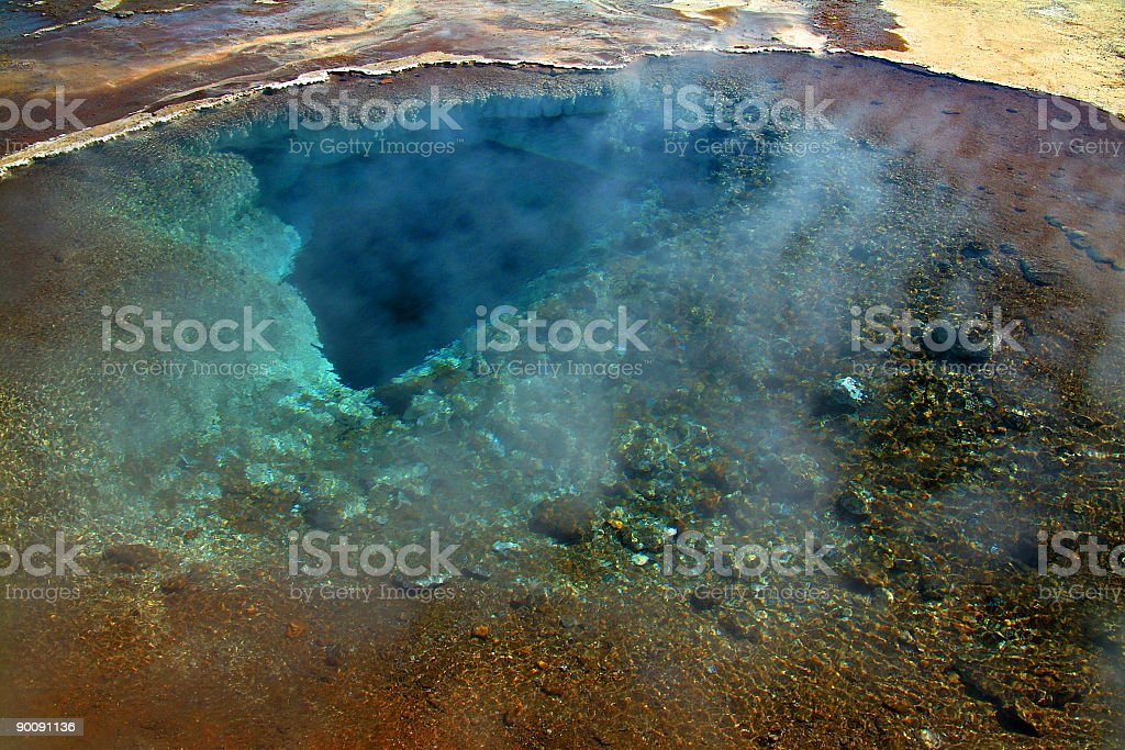 Thermal transparency stock photo