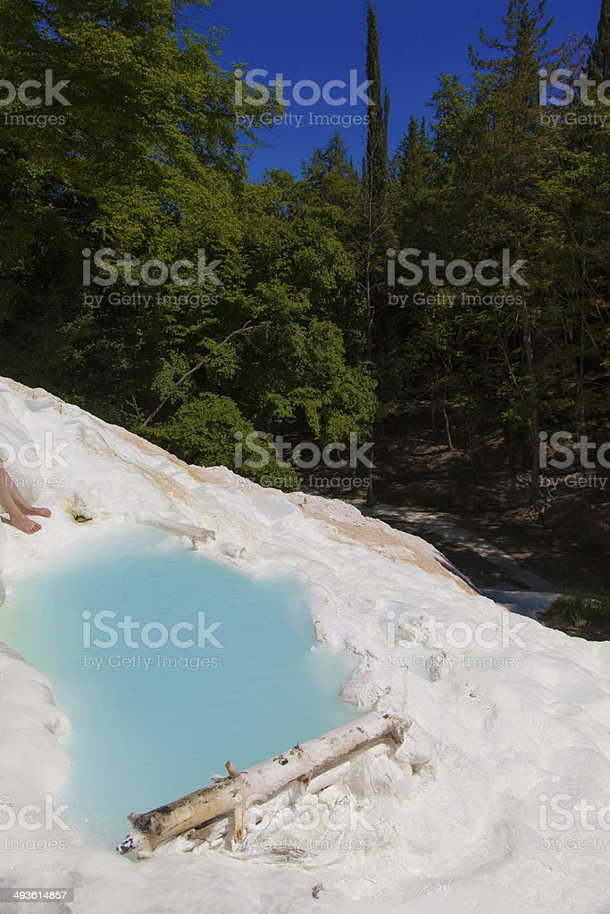 Thermal water royalty-free stock photo