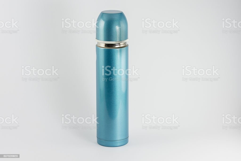 Thermo flask stock photo