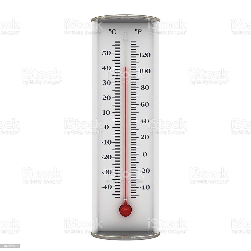 Thermometer - heat stock photo
