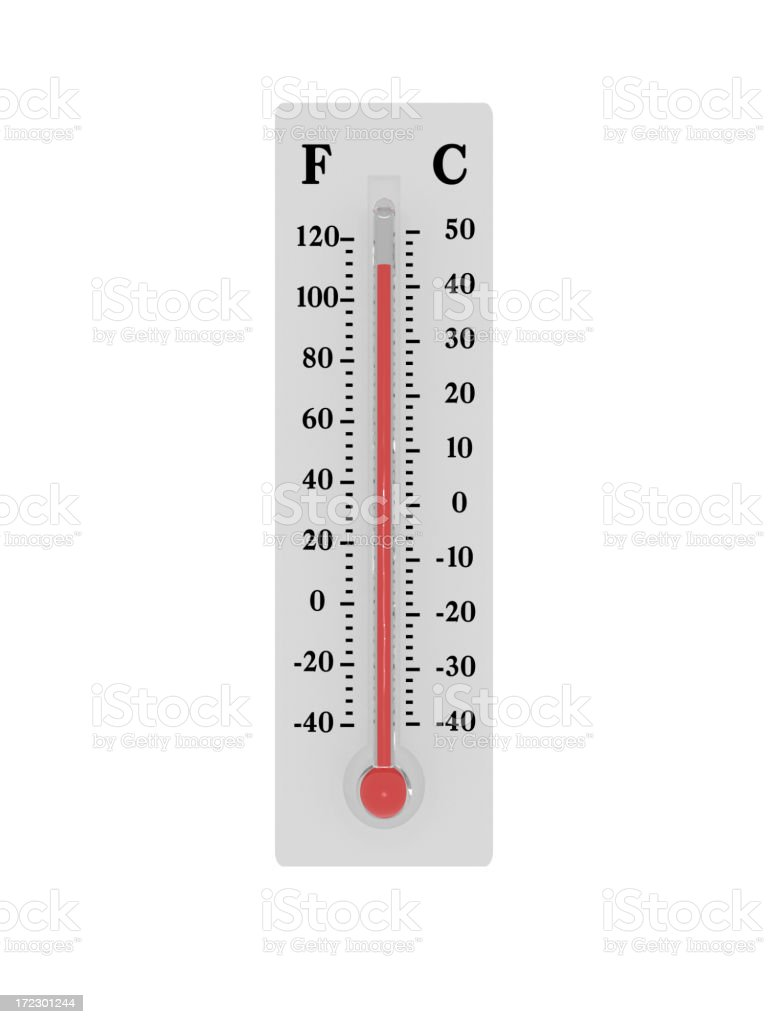 Thermometer - Heatwave royalty-free stock photo
