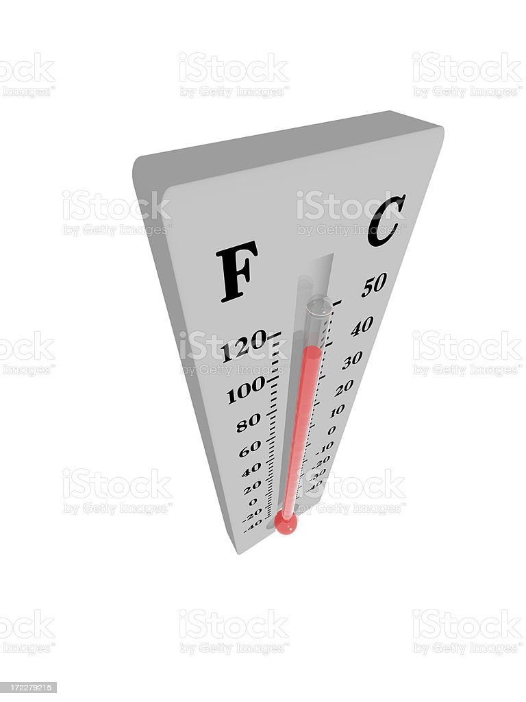 Thermometer - Hot royalty-free stock photo