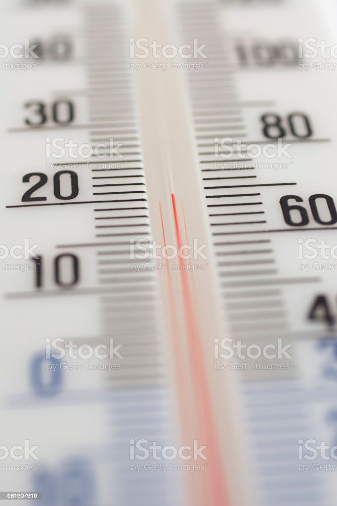 Thermometer particular stock photo