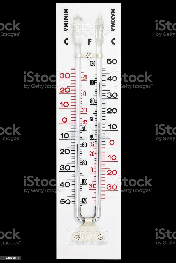 Thermometer royalty-free stock photo