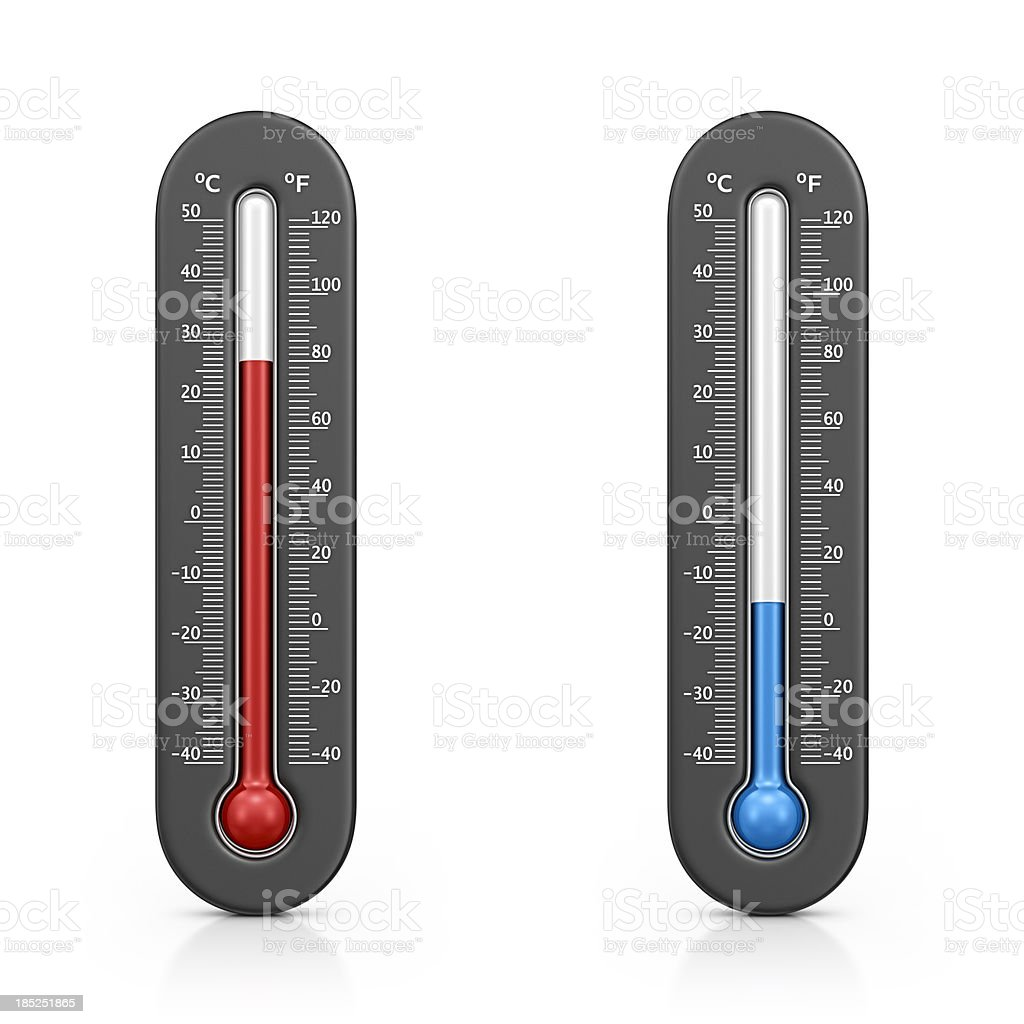 thermometers royalty-free stock photo