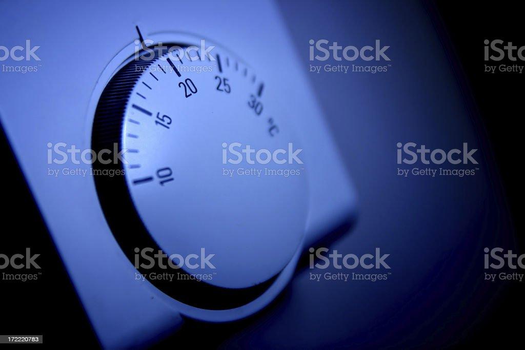 Thermostat 1 stock photo