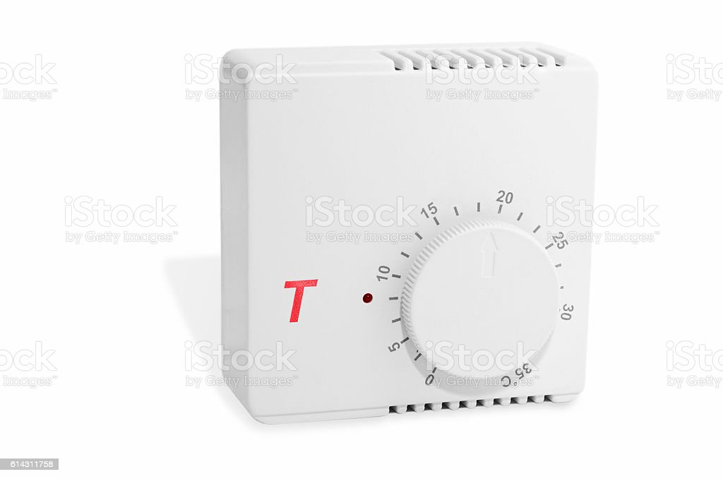 Thermostat isolated stock photo