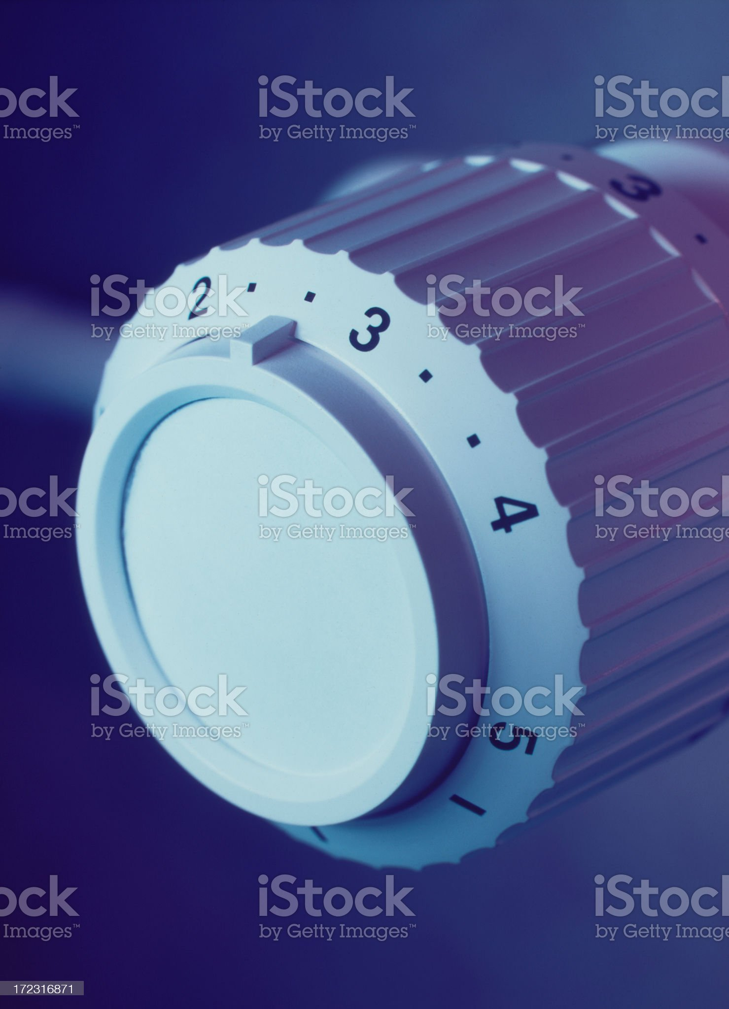 Thermostat royalty-free stock photo