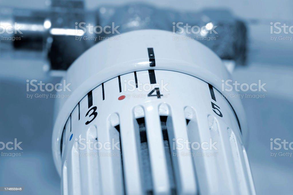 Thermostat stock photo