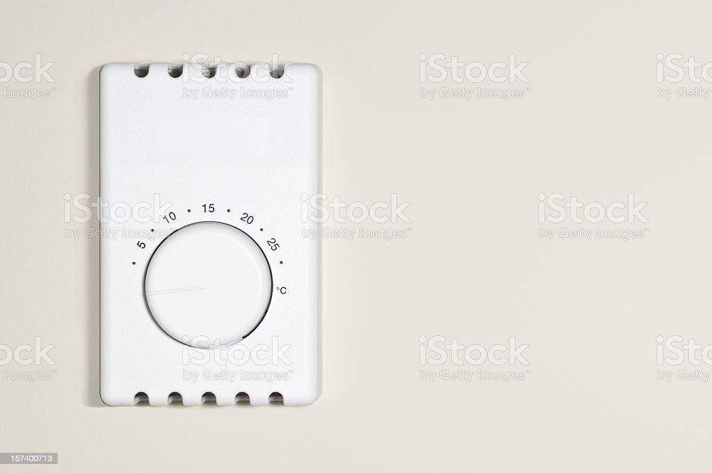 Thermostat XL stock photo
