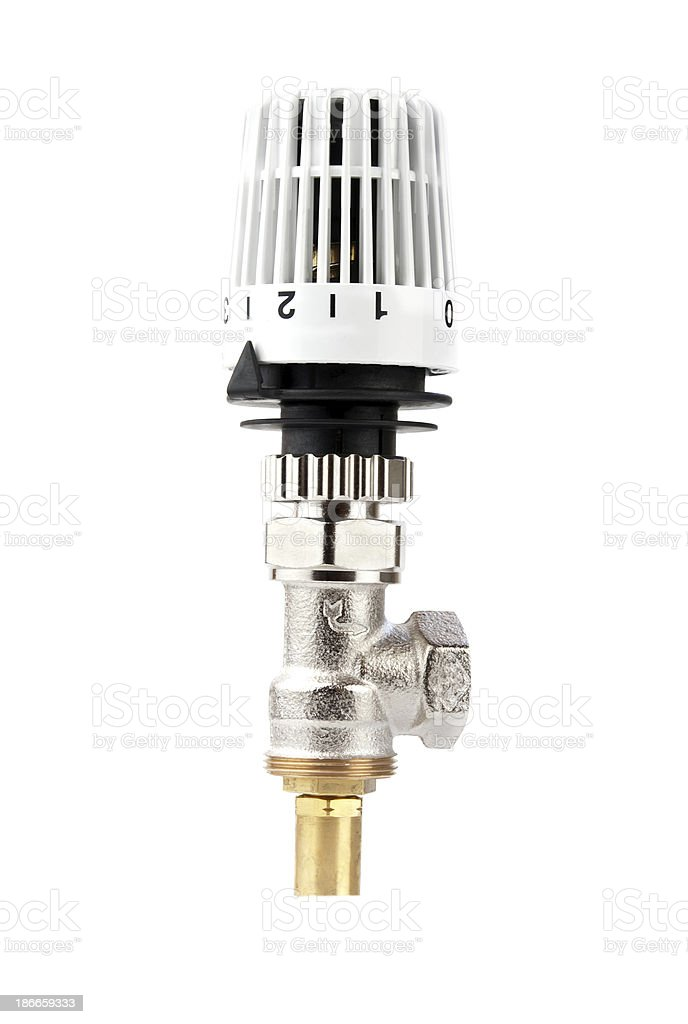 thermostatic control royalty-free stock photo