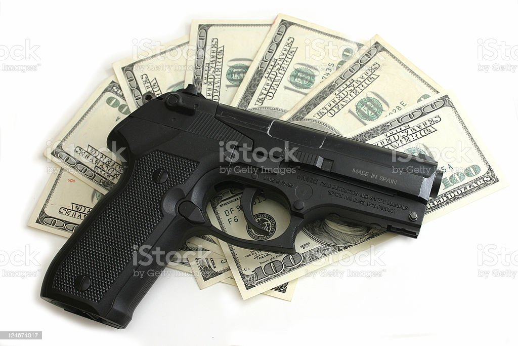 These are MY money royalty-free stock photo