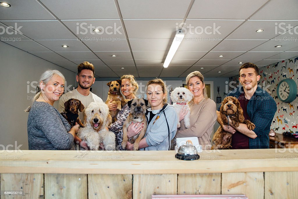 These Are Some of My Regulars stock photo