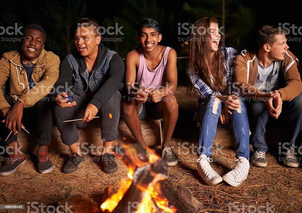 These are the nights we wish will never end stock photo