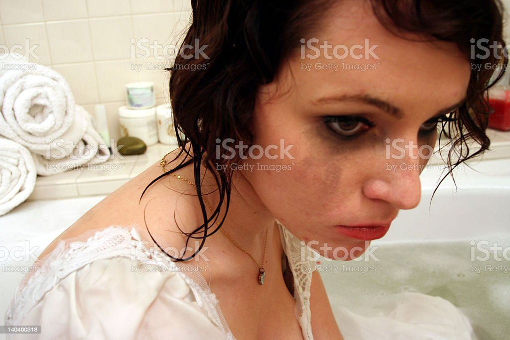 these crying eyes royalty-free stock photo