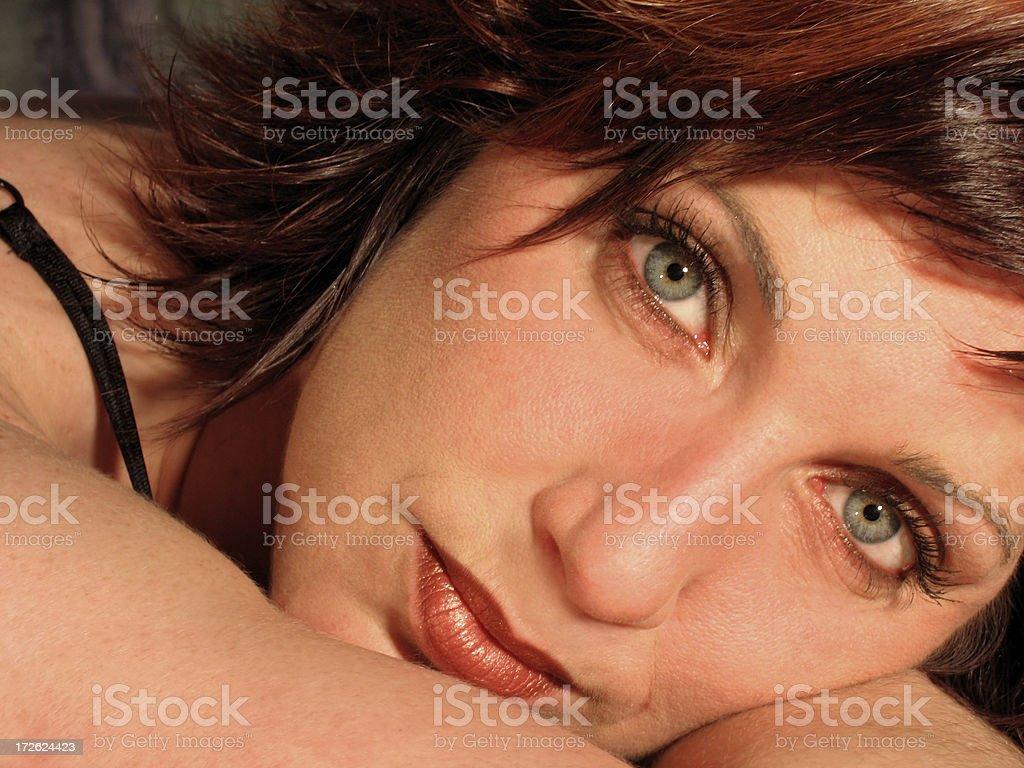 These eyes royalty-free stock photo