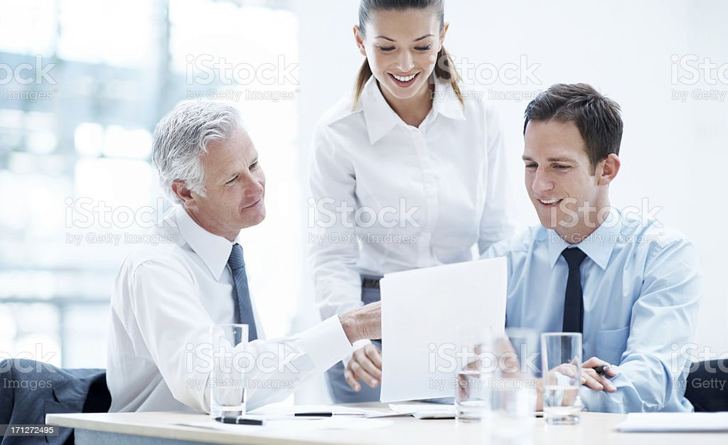 These figures are looking great... royalty-free stock photo