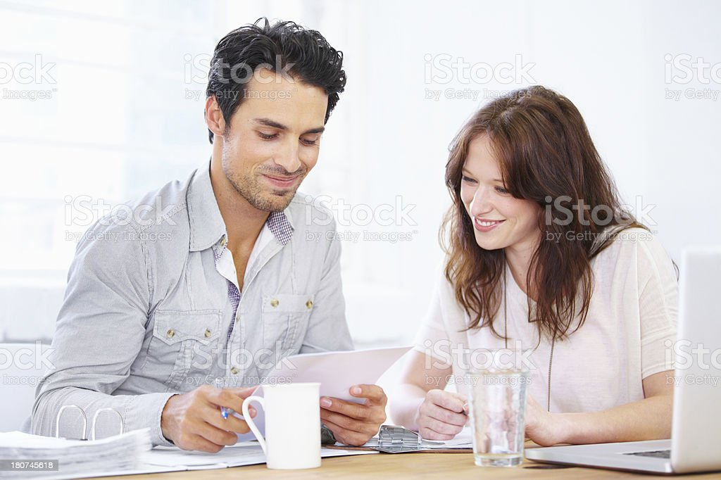 These figures look good! royalty-free stock photo