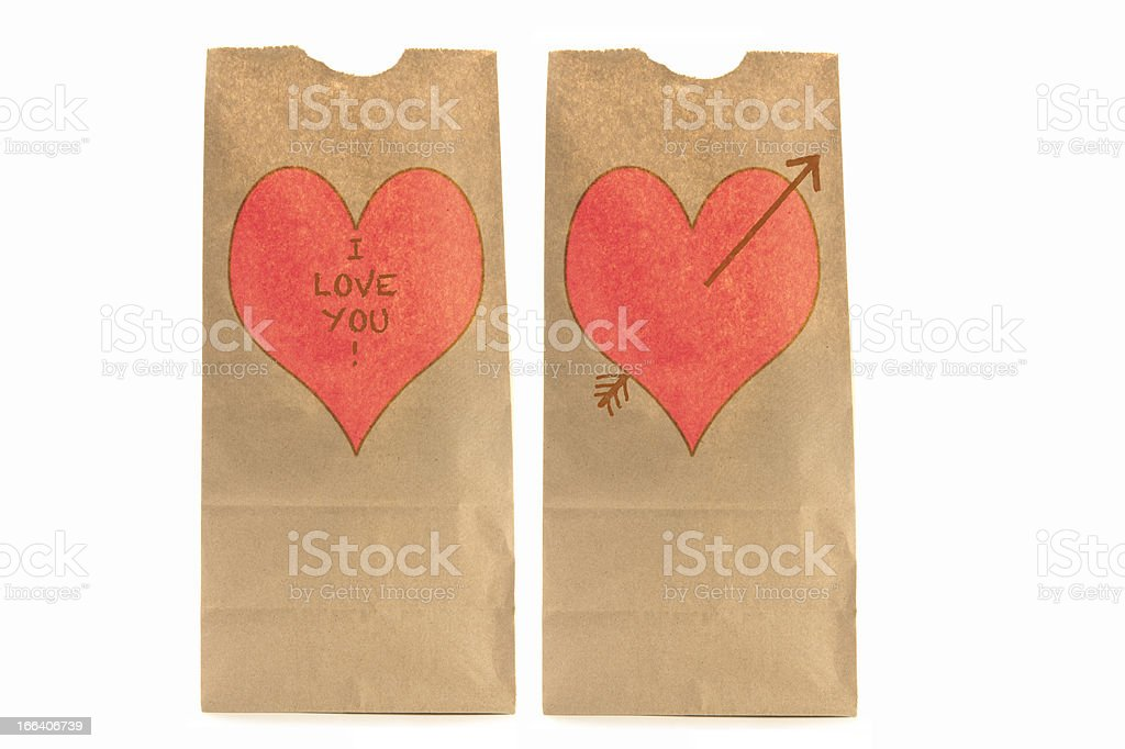 These two are in love! royalty-free stock photo