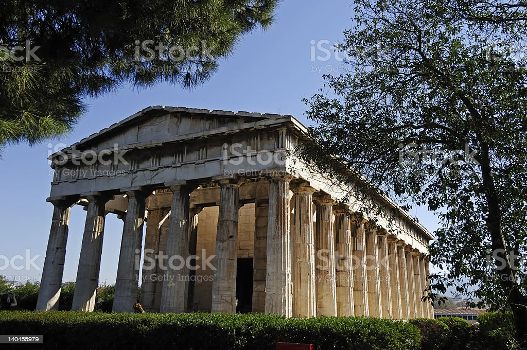 Theséion Efaistiéion royalty-free stock photo