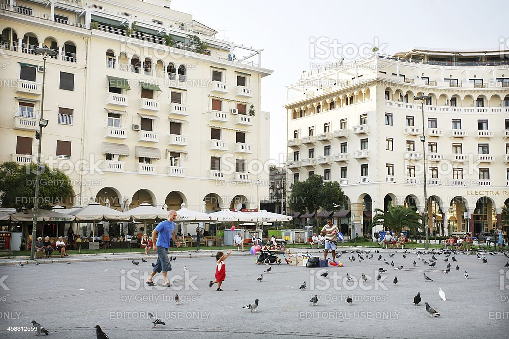 Thessaloniki royalty-free stock photo