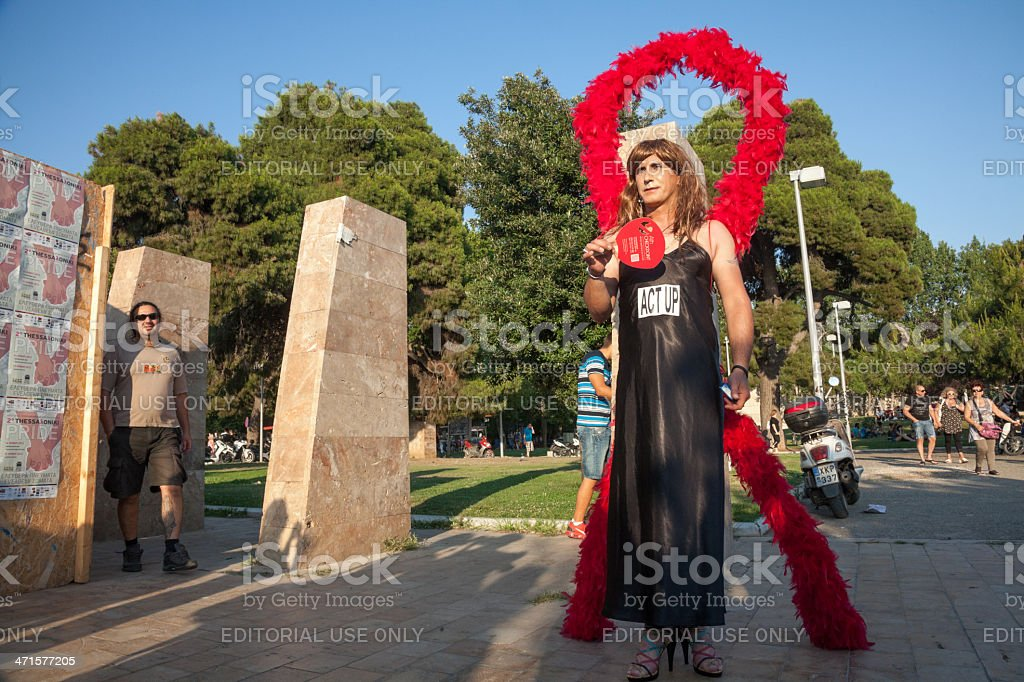 Thessaloniki Pride 2013 - Greece royalty-free stock photo
