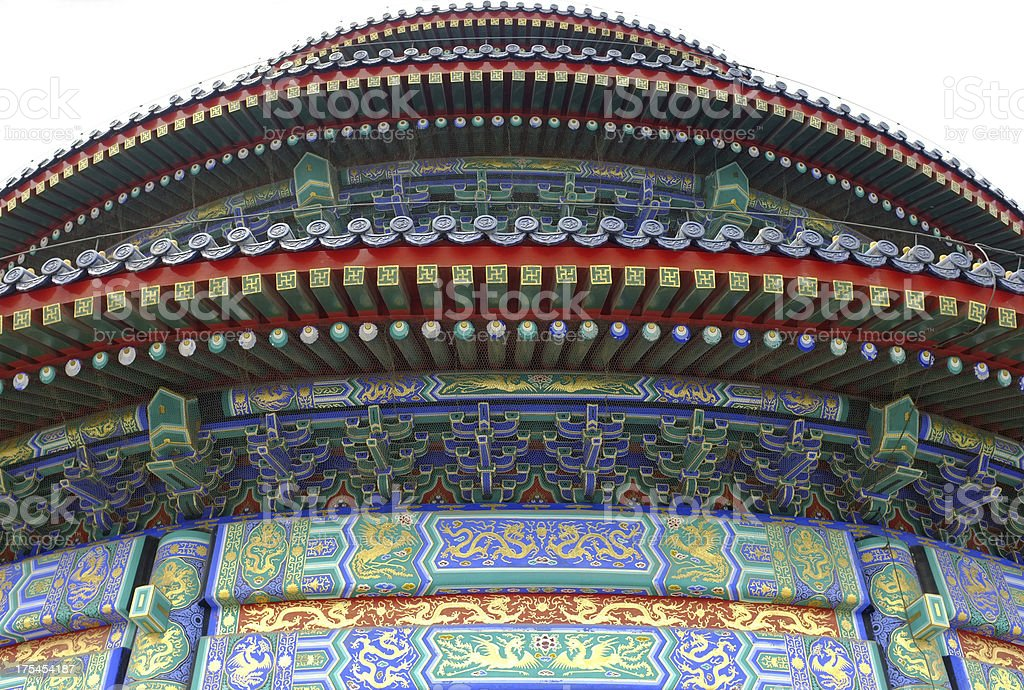 TheTemple of Heaven - Tian Tar royalty-free stock photo
