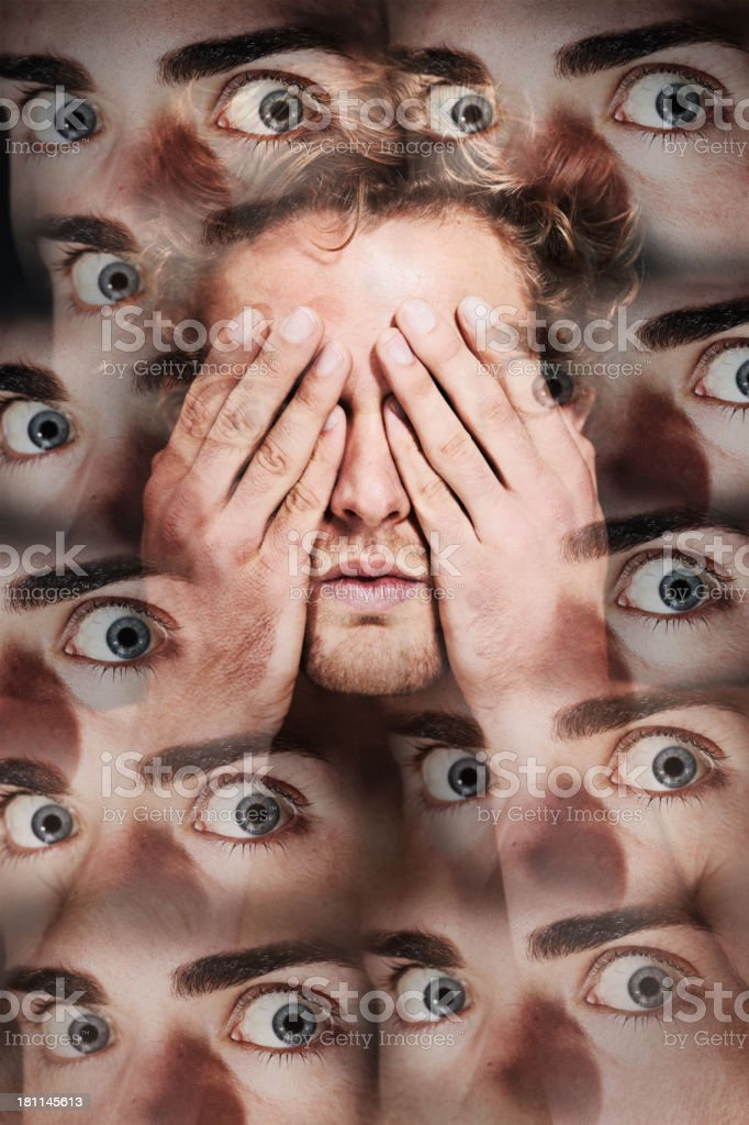 They are always watching royalty-free stock photo