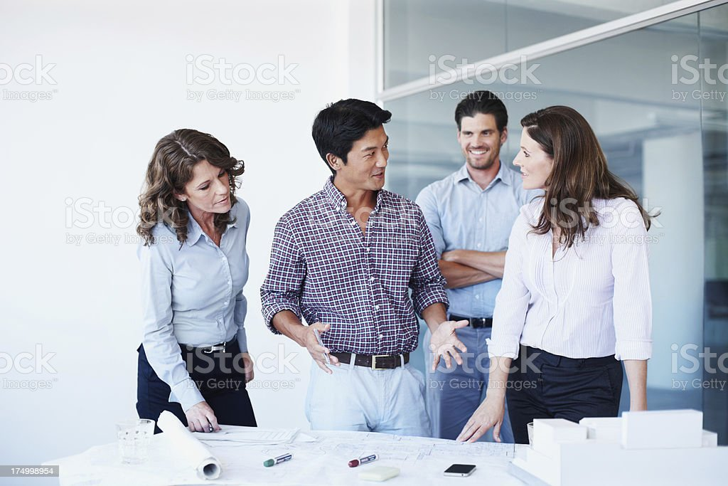 They are proving to be a formidable team royalty-free stock photo